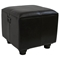Rearden Dark Chocolate Square Ottoman with Lid - INTC-YWLF-2188-DC