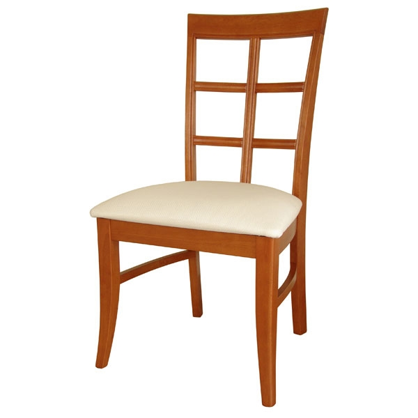 Bordeaux Dining Chair with Upholstered Seat