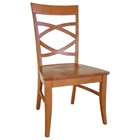 Milano Dining Chair with Wood Seat