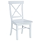X-Back Chair With Solid Wood Seat - IC-CXX-613P