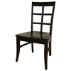 Bordeaux Dining Chair with Wood Seat