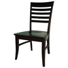 Roma Dining Chair with Wood Seat