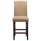 "24"" Upholstered Chair in Java and Mocha"