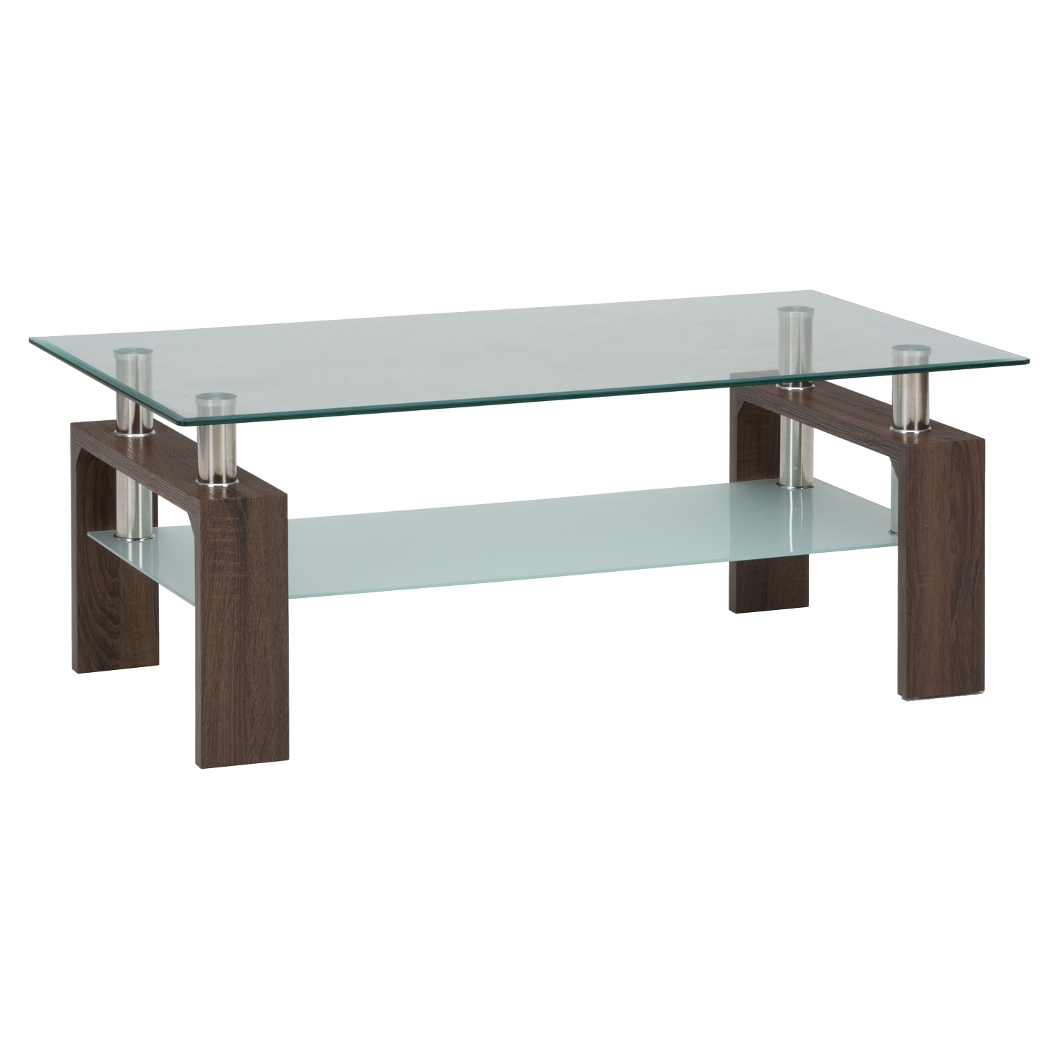 Compass Rectangle Cocktail Table