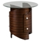 Waterville Round End Table - Walnut - JOFR-956-3B3GKT