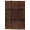Caelyn Hand Tufted Wool Rug in Brown