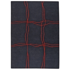 Caelyn Hand Tufted Wool Rug in Charcoal