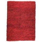 Ceres Hand Woven Wool Rug in Red