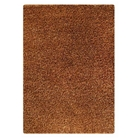 Evonne Hand Woven Polyester Shaggy Rug in Gold