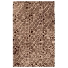 Holda Beige and Brown Hand Tufted Wool Rug