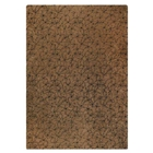Huberta Hand Tufted Wool Rug in Brown and Black