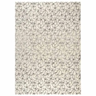 Huberta Hand Tufted Wool Rug in White and Grey