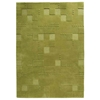 Ingrid Hand Tufted Wool Rug in Green
