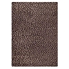 Jonie Hand Woven Wool Rug in Chocolate