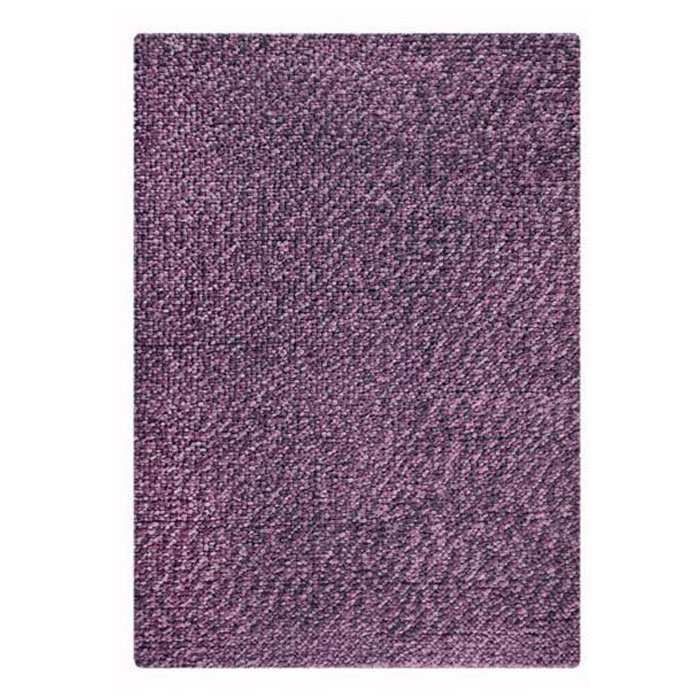 Jonie Hand Woven Wool Rug in Lilac