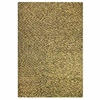 Jonie Hand Woven Wool Rug in Olive