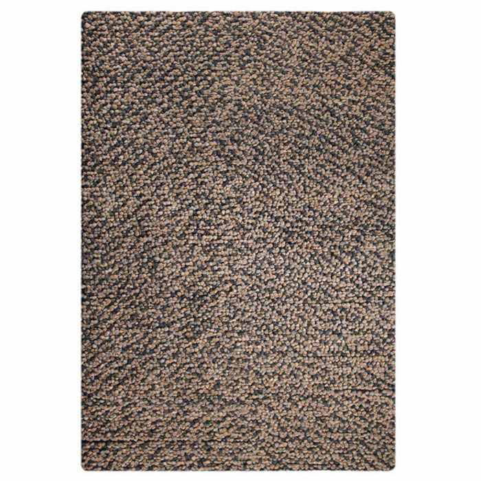 Jonie Hand Woven Wool Rug in Smoke