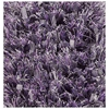 Lucetta Hand Woven Polyester Shaggy Rug in Violet