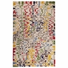 Lystra Hand Tufted Wool Rug in Tan and Multicolor