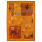 Millicent Hand Tufted Wool Rug in Rust