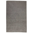 Nadia Hand Tufted Indian Wool Rug in Grey