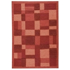 Nicola Hand Woven Wool Rug in Red