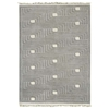 Nurhan Hand Knotted Indo Tibetan Wool Rug in Grey