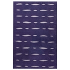 Rosetta Hand Tufted Indian Wool Rug in Purple