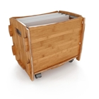 Sustainable Letter File Cart