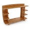 Sustainable 36'' Straight Hutch - LEG-HTAO-100