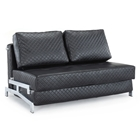 St. Martin Contemporary Leather Look Sofa Bed