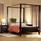 Wilshire Canopy Bed and Two Nightstands - LSS-WSR-3X-CP-SET