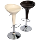 Scoop Adjustable Swivel Bar Stool