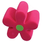 Pink & Green Mini Flower Ottoman