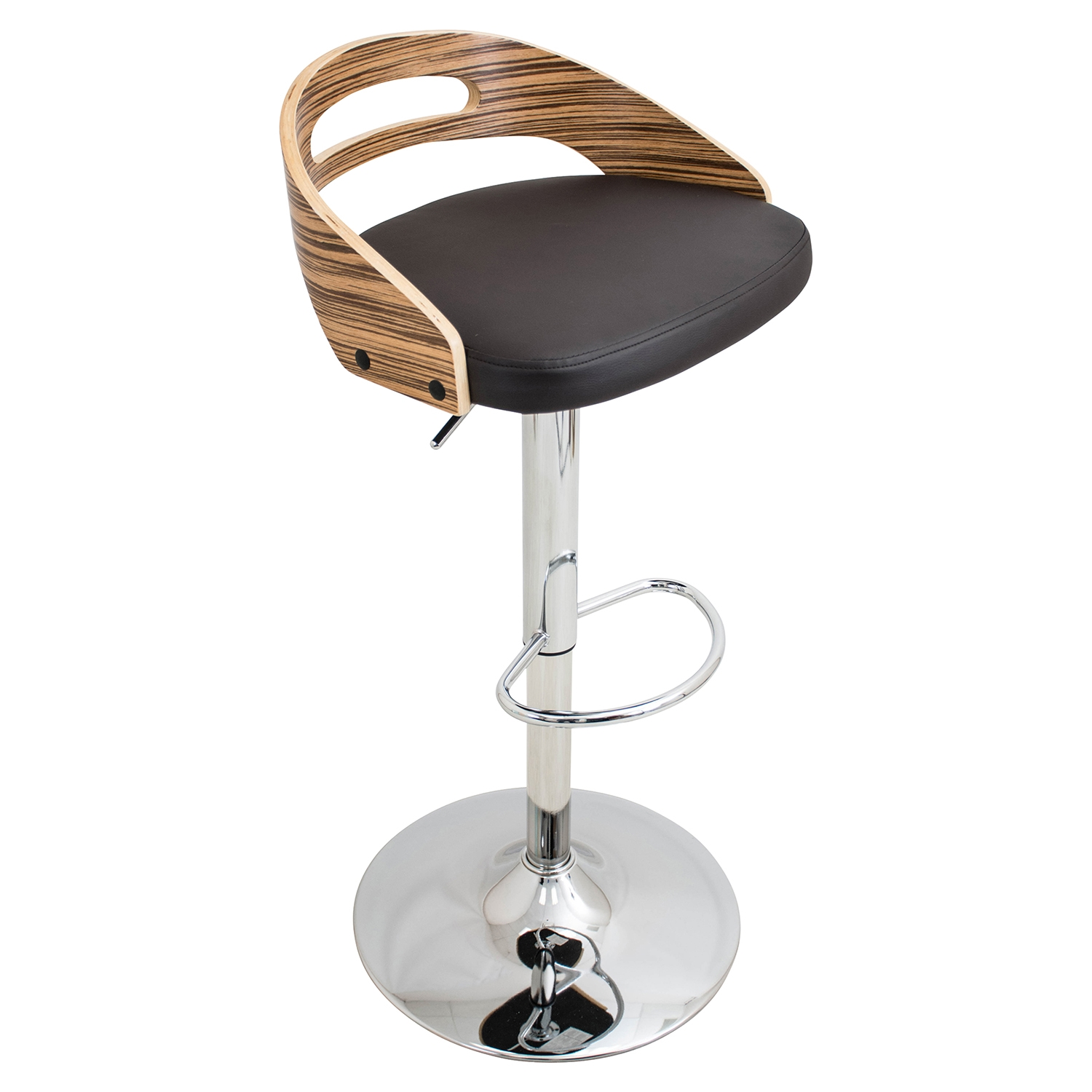 Cassis Height Adjustable Barstool - Swivel