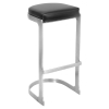 Demi Backless Barstool - Black (Set of 2)