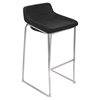 Drop-In Stackable Barstool - Charcoal (Set of 2)