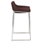 Drop-In Stackable Barstool - Burgundy (Set of 2) - LMS-BS-DROPIN-BRG2