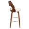 Cecina Swivel Barstool - Cream, Walnut - LMS-BS-JY-CCN-WL-CR