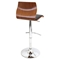 Ella Height Adjustable Barstool - Swivel, Black - LMS-BS-JY-EL-WL-BK