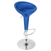 Scooper Height Adjustable Barstool - Swivel, Blue