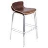 Woodstacker Stackable Barstool - Walnut (Set of 2)
