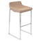 Satori Stackable Barstool - Medium Brown (Set of 2) - LMS-BS-STR-MBN2