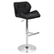 Jubilee Height Adjustable Barstool - Swivel, Black - LMS-BS-TW-JUBL-BK