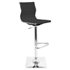 Master Height Adjustable Barstool - Swivel, Black