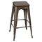 Oregon Stackable Barstool - Dark Espresso Top, Antique (Set of 2) - LMS-BS-TW-OR-DK-AN2