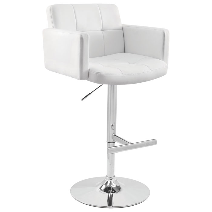Stout Adjustable Swivel Bar Stool - Tufted - LMS-BS-TW-STOUT-X