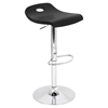 Surf Height Adjustable Barstool - Swivel, Black