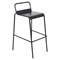 Victor Stackable Barstool - Black (Set of 2) - LMS-BS-TW-VIC-BK2