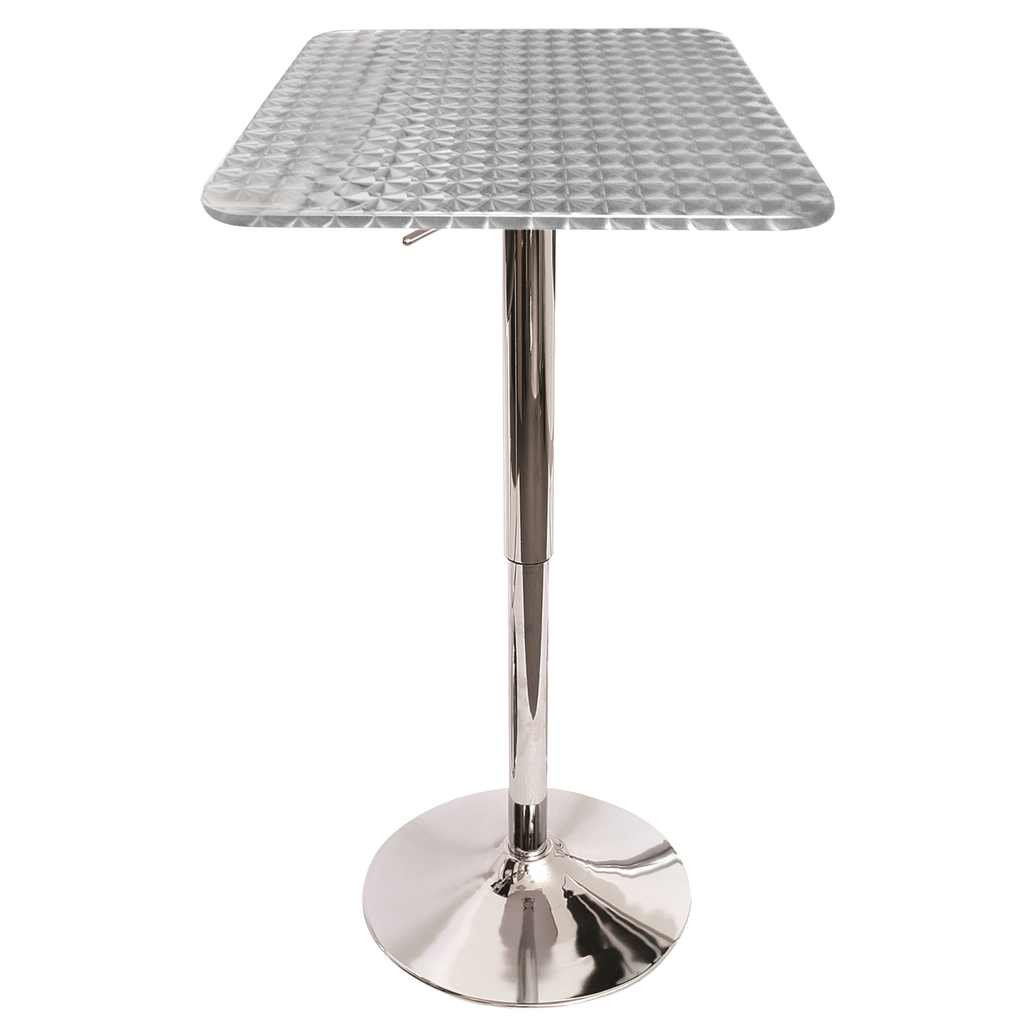 Bistro Height Adjustable Bar Table - Square